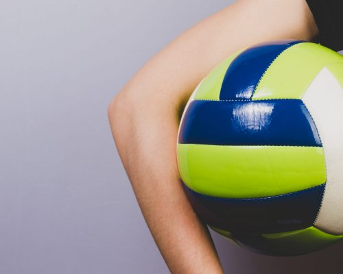 close-up-of-ball-to-play-volleyball